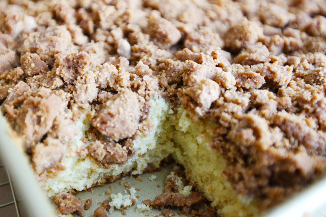 ... with: Baked Explorations New York Style Crumb Cake • Crumb Cake