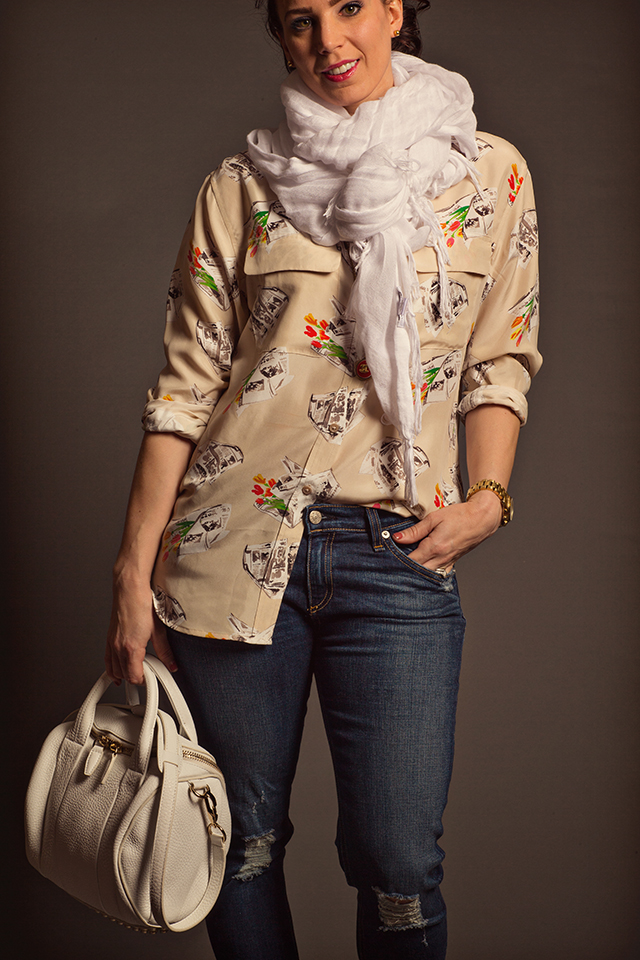 Print Blouse - Casual 8