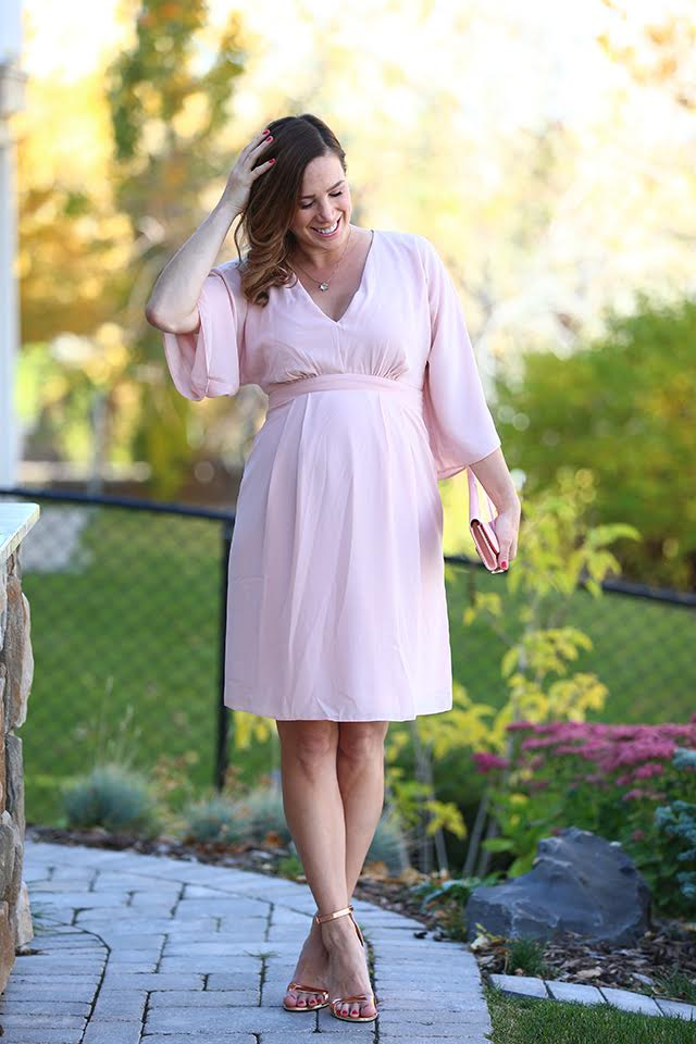 Blush Maternity Dress 10